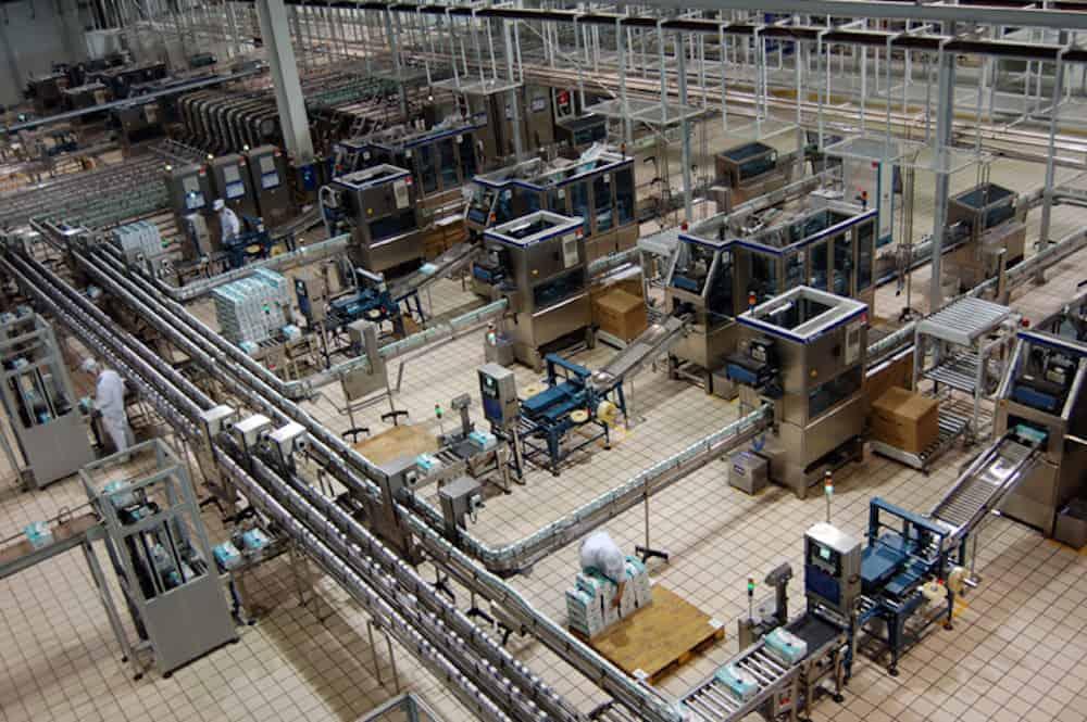 Factory machine noise
