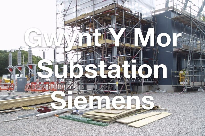 Gwynt Y Mor Substation for Siemens