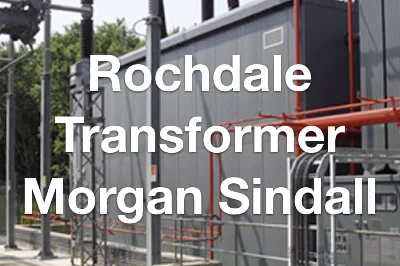 Rochdale Transformer acoustic enclosure for Morgan Sindall