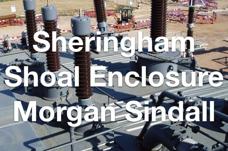 Sheringham Shoal Offshore Windfarm Acoustic Enclosure at