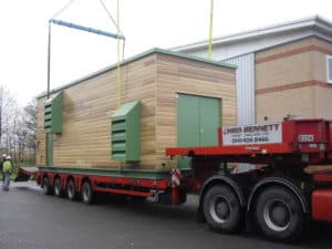 Delivery of the Packaged Plant Combined Heat and Power Acoustic Enclosure