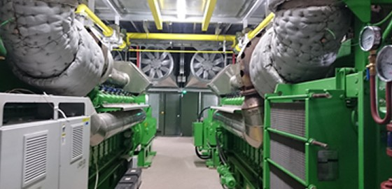 Acoustic Enclosure for UK Power Reserve to house gas fired electricity generators
